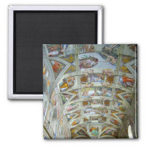 sistine chapel fridge magnets