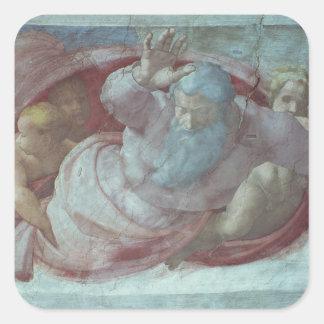 Sistine Chapel Square Sticker