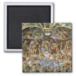 Sistine Chapel: The Last Judgement, 1538-41 Fridge Magnets