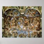Sistine Chapel: The Last Judgement, 1538-41 Poster