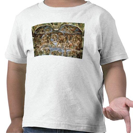 Sistine Chapel: The Last Judgement, 1538-41 Tee Shirt
