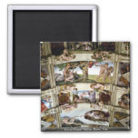 Sistine Chapel, Vatican, Rome, Italy Refrigerator Magnet