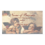 Sistine Madonna Angels by Raphael Raffaello Business Card Template
