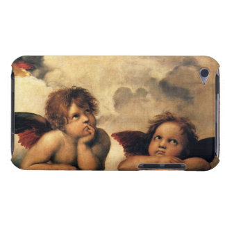 Sistine Madonna, Angels detail by Raphael Case-Mate iPod Touch Case