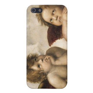 Sistine Madonna Detail, Raphael Cover For iPhone 5/5S