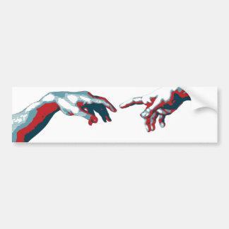 Sistine style sitcker bumper sticker