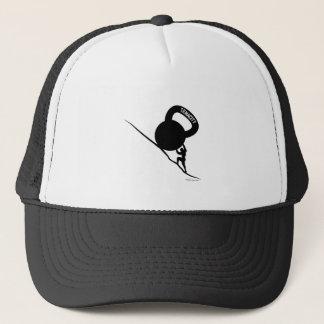Sisyphus Kettlebell Tenacity T-Shirt Trucker Hat