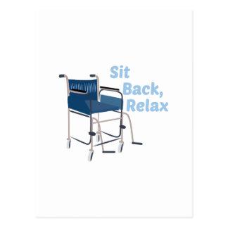 Sit Back Postcard