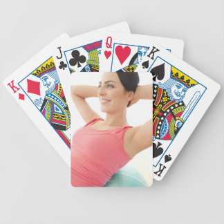 Sit-ups Bicycle Playing Cards