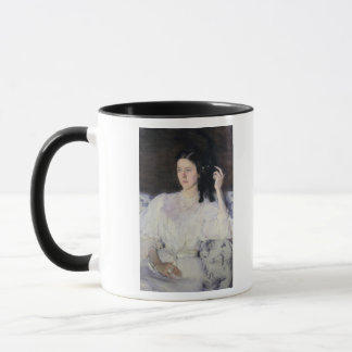 Sita and Sarita, or Young Girl with a Cat Mug