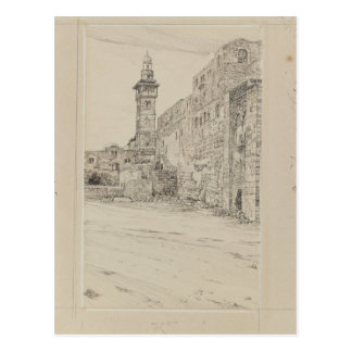 Site of the Antonia Tower by James Tissot Postcard