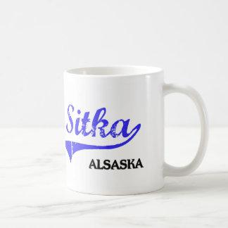 Sitka Alaska City Classic Basic White Mug
