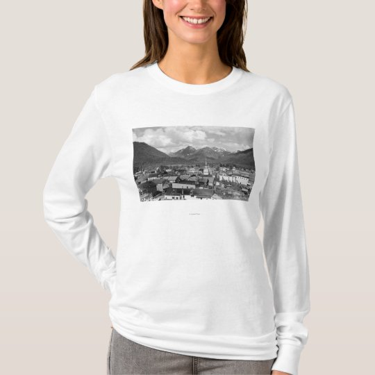 Sitka, Alaska with Three Sisters in Background T-Shirt