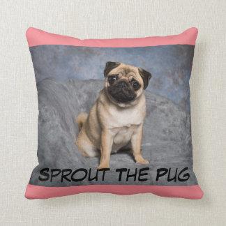 Sittin Pretty Throw Pillow
