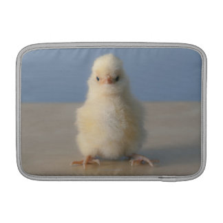 Sitting Baby Yellow Chicken, 3 days old Sleeve For MacBook Air