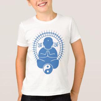 Sitting Buddha Kid's T-Shirt
