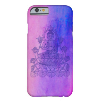 Sitting Buddha on Lotus Barely There iPhone 6 Case