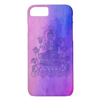 Sitting Buddha on Lotus iPhone 7 Case