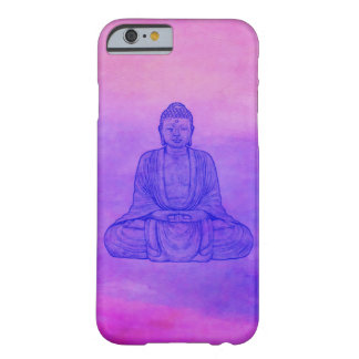 Sitting Buddha on Watercolor Wash Barely There iPhone 6 Case