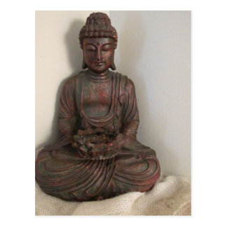 Sitting Buddha Postcard