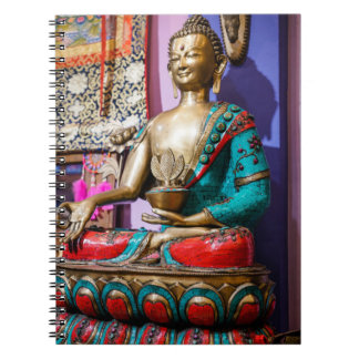 Sitting Buddha Statue Note Books