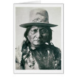 Sitting Bull (1831-1890) (b/w photo) Cards