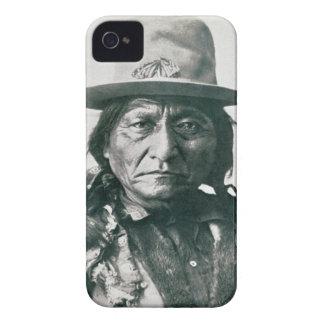 Sitting Bull (1831-1890) (b/w photo) iPhone 4 Cover