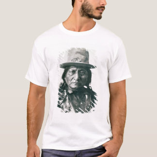 Sitting Bull (1831-1890) (b/w photo) T-Shirt