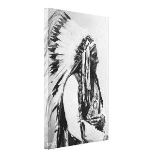 Sitting Bull, a Hunkpapa Sioux Canvas Print