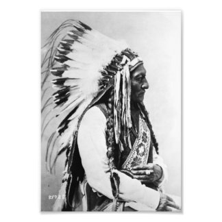 Sitting Bull, a Hunkpapa Sioux Photo Print
