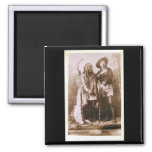 Sitting Bull and Buffalo Bill 1895 Refrigerator Magnets