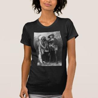 Sitting Bull and Buffalo Bill Portrait from 1885 Shirt
