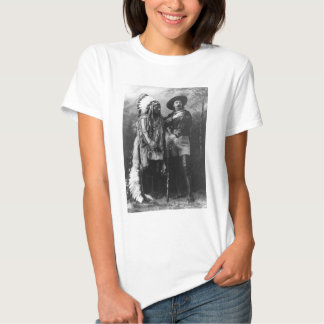Sitting Bull and Buffalo Bill Portrait from 1885 T Shirts