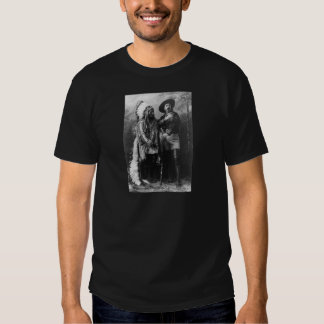 Sitting Bull and Buffalo Bill Portrait from 1885 Tee Shirts