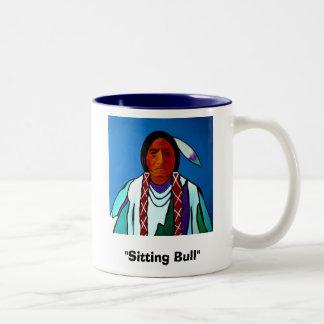 """""""Sitting Bull"""" mug"""