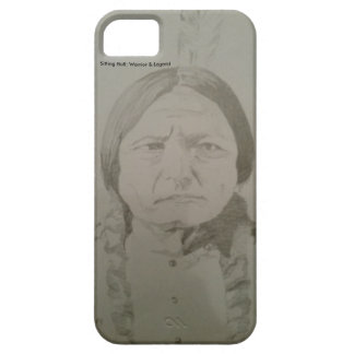 Sitting Bull: Native American Indian Sioux Warrior Case For The iPhone 5