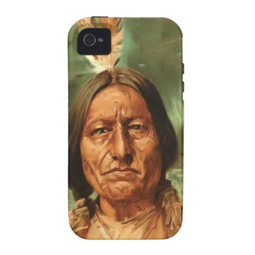 Sitting-Bull painted by William Gilbert Gaul 1890 Case-Mate iPhone 4 Cover