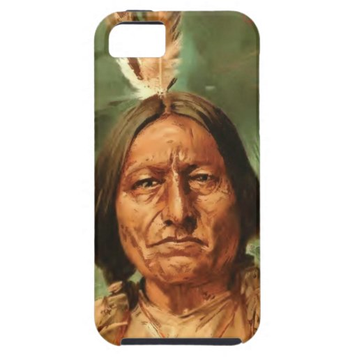 Sitting-Bull painted by William Gilbert Gaul 1890 Case For iPhone 5/5S