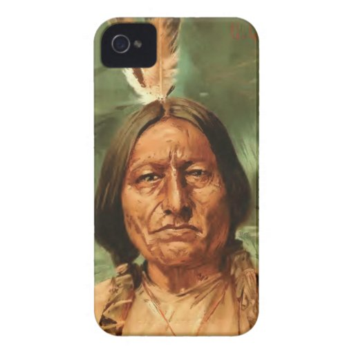 Sitting-Bull painted by William Gilbert Gaul 1890 iPhone 4 Case