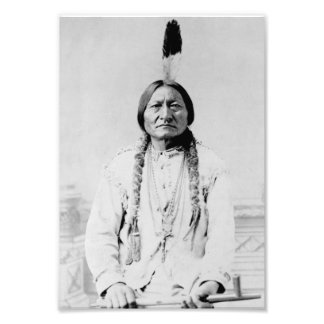 Sitting Bull Photo Art