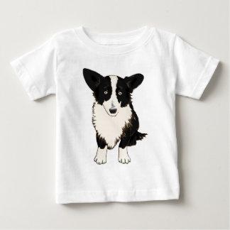 Sitting Cardigan Welsh Corgi Illustration Baby T-Shirt