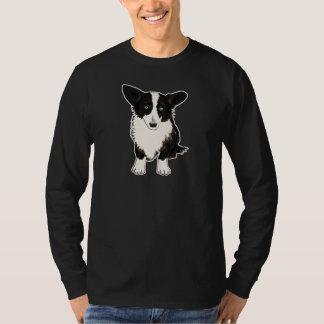 Sitting Cardigan Welsh Corgi Illustration T-Shirt