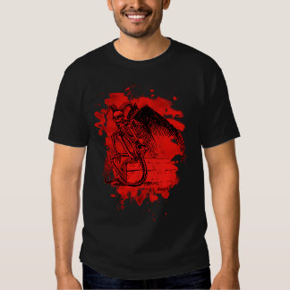 Sitting Demon - bleached talk Tee Shirt