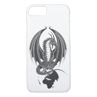 Sitting dragon on the world ball… iPhone 8/7 case