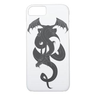 Sitting dragon on Yin Yang… iPhone 7 Case