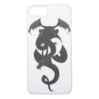 Sitting dragon on Yin Yang… iPhone 8/7 Case