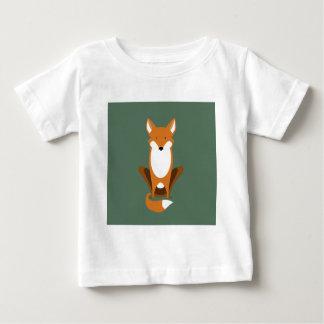 Sitting Fox Baby T-Shirt