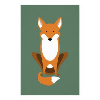 Sitting Fox Stationery