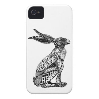 Sitting Hare iPhone 4 Cases