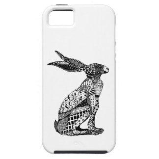 Sitting Hare iPhone 5 Cover